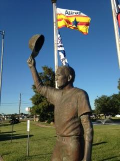 N Ryan statue