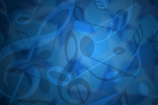 music-blue